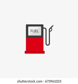 gasoline pump vector icon