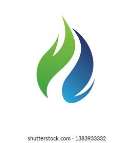 Gass, Plumbing Logo Inspiration Vector