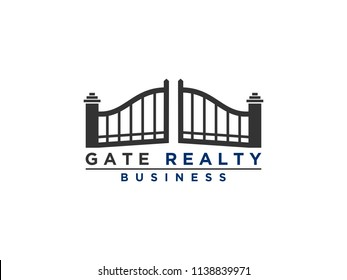 gate door logo design inspiration