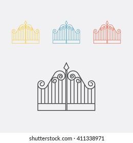 Gate line icon