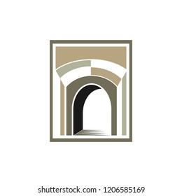 gate logo image vector