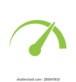 gauge speedometer vector icon