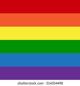 Gay Flag. LGBT.