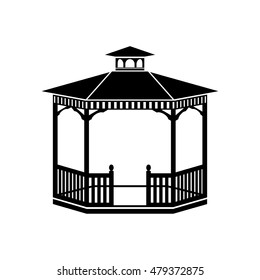Gazebo, vector design