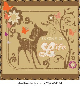 gazelle illustration