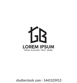 GB LETTER LOGO DESIGN FOR USE PROPERTY/CONSTRUCTION