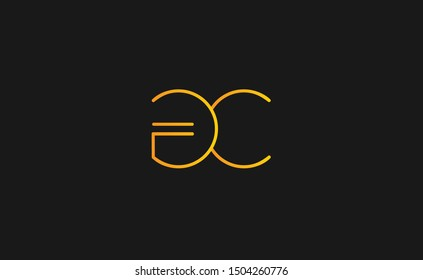 GC letter Logo Design Template Vector