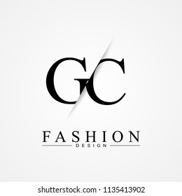 GC letter logo icon