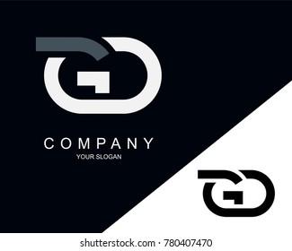 GD Letter Logo Design Template