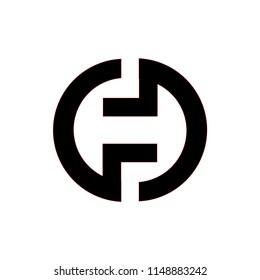 gd letter vector logo