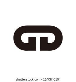 gd letter vector logo. gg letter vector logo