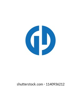 gd letter vector logo. gg letter vector logo. dd letter vector logo