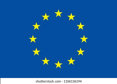 Gdpr eu flag general data protection regulation with star.