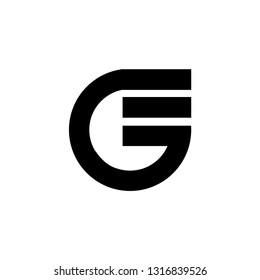 ge letter vector logo. eg letter vector logo