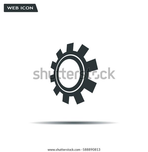 Gear or cog icon