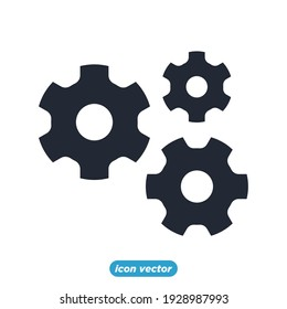 gear development icon. Business and finance gear development symbol template for graphic and web design collection logo vector illustration