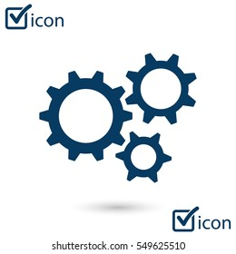 Gear icon.