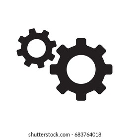 gear icon, service icon, maintenance icon vector