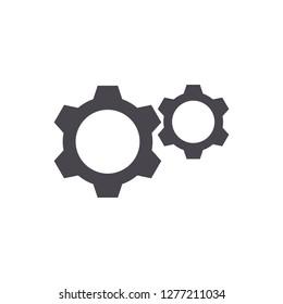 Gear Icon, Setting Icon, vector
