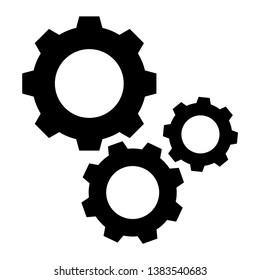 gear icon vector design