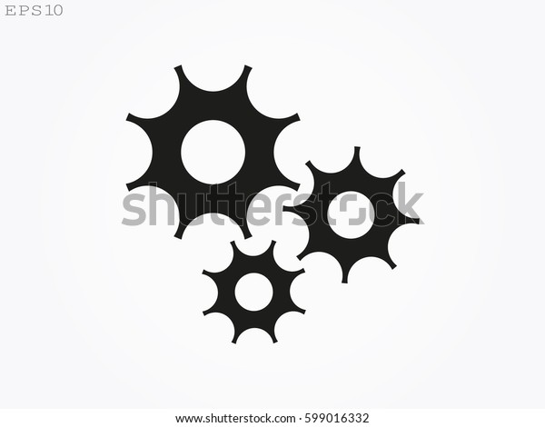 gear, icon, vector illustration eps10