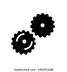 Gear Icons vector service engine
