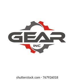Gear Logo design template vector illustration