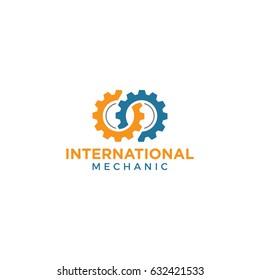 gear logo icon vector template