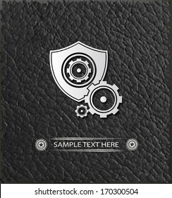 Gear symbol,vector