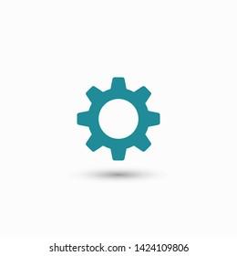 Gear vector icon. Web design icon. Gears and cogs symbol. Cog wheels icon. Cogs circle illustration. Gear wheel logo. Vector EPS 10