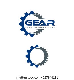 Gear Vector Template