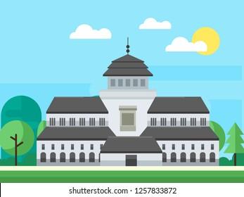 Sate Building Stock Vectors Images Vector Art Shutterstock