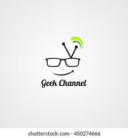Geek Channel Design Template.