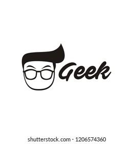 geek logo design
