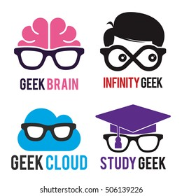 GEEK LOGO ICON TEMPLATE SET