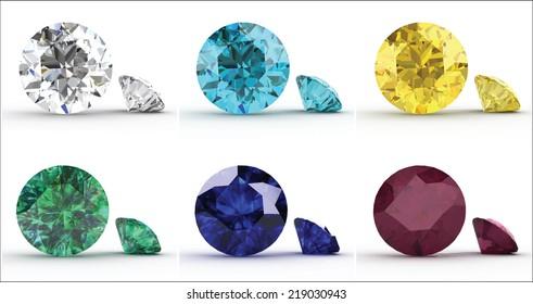Rubies /& Sapphires