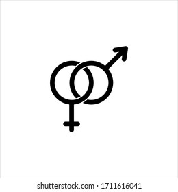 gender icon images stock photos vectors shutterstock https www shutterstock com image vector gender set malefemale icon vector illustration 1711616041
