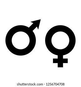 Gender sign icon vector