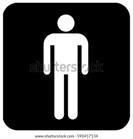 Gender Symbol Toilet Symbol Unicode Mens Stock Vector Royalty Free