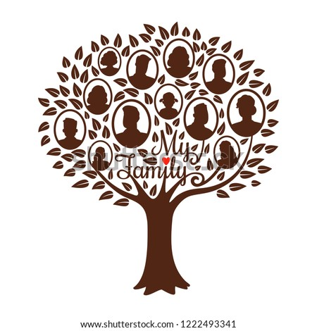 Genealogy tree Genealogical family