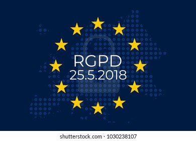 General Data Protection Regulation (GDPR) in spanish: El Reglamento General de Protección de Datos (RGPD)