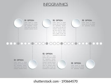 general infographic, vector