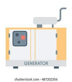 Generator Vector Icon