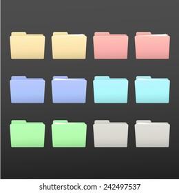 generic folders set