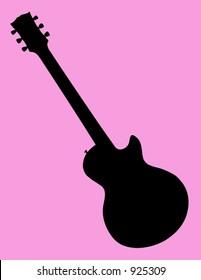 Generic Guitar Silhouette