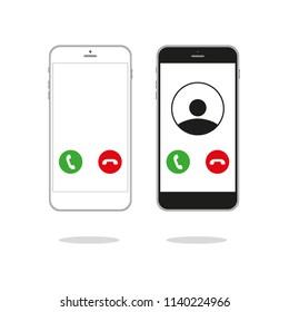 Generic Incoming Phone Call Screen