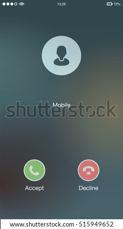 Generic Incoming Phone Call