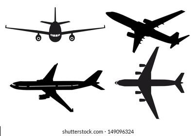 Generic plane silhouettes