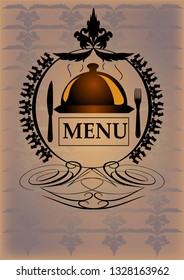 Generic resaurant menu.  Add your own text.