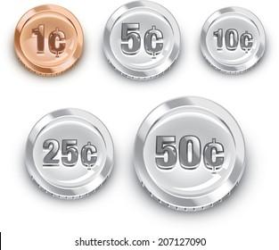 Generic US coins